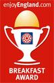 Enjoy England Breakfast award logo